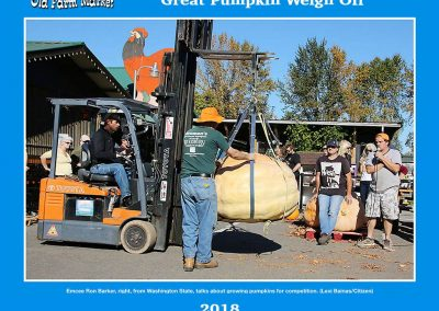 Great Pumpkin Weigh Off 2018