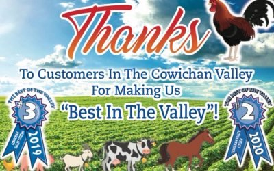 Cowichan Valley Citizen Best Customer Service In Valley